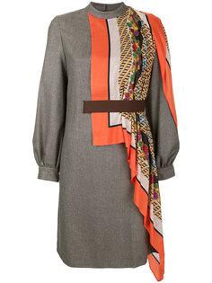 платье со вставками  Kolor