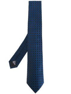 жаккардовый тканый галстук  Armani Collezioni