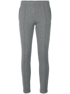 piped seam skinny trousers Moncler Grenoble