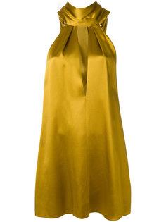 платье с вырезом  Galvan