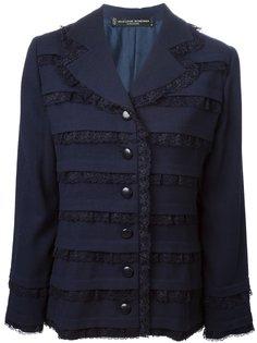 пиджак с кружевными вставками Jean Louis Scherrer Vintage