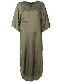 асимметричное платье Smythe