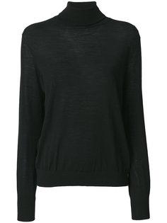 свитер с отворотом  Zanone