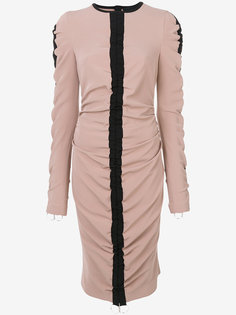 ruched detail dress Marco Bologna
