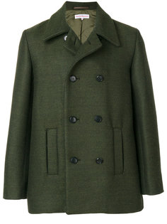 wolf embroidered peacoat Walter Van Beirendonck