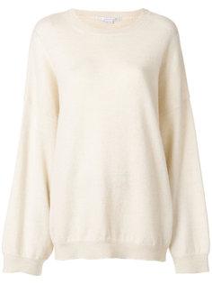 свободный свитер с круглым вырезом  Stella McCartney