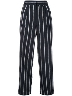 stripe cropped trousers Tomorrowland