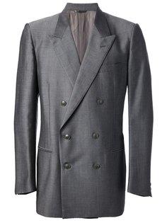 двубортный пиджак Yves Saint Laurent Vintage