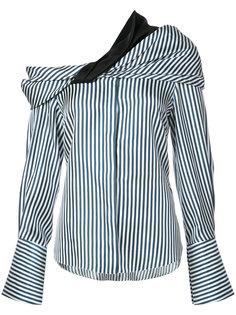 драпированная блузка Calla Hellessy