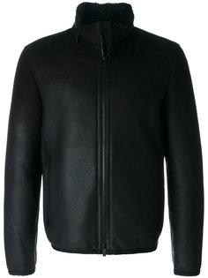 куртка с отделкой из овчины Z Zegna