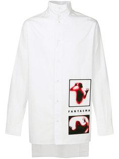 рубашка с принтом ghost D.Gnak