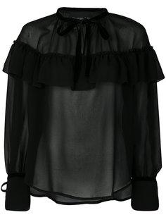 блузка с оборкой  Christian Pellizzari