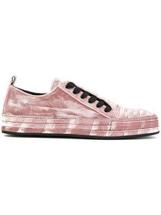 кроссовки с закрытой шнуровкой Ann Demeulemeester