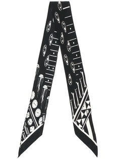 eye print scarf Rockins