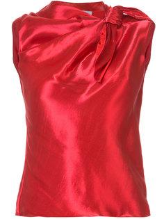 блузка без рукавов Oscar de la Renta