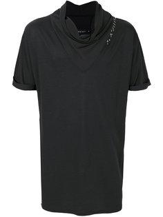 футболка с отворотной горловиной Alchemy