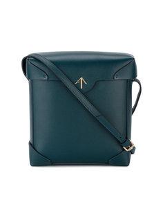 синяя сумка через плечо Pristine Manu Atelier