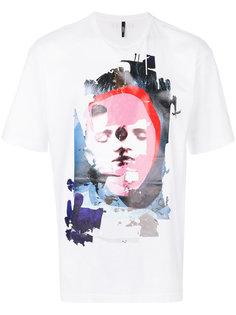 футболка с графическим принтом Versus