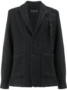 пиджак с пером Ann Demeulemeester Grise