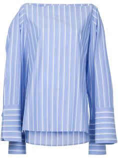 полосатая рубашка из поплина Dion Lee