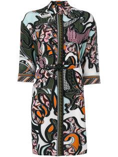 платье-рубашка Baroccoflage Versace