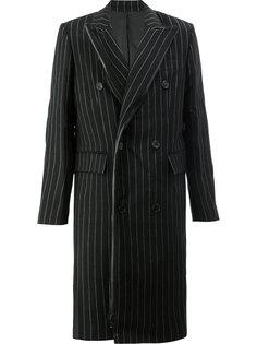 пальто в тонкую полоску Juun.J