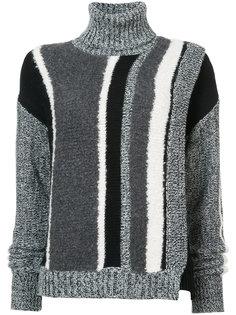 striped turtleneck sweater Yigal Azrouel