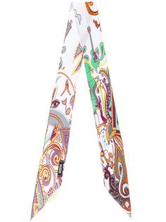 paisley print scarf Rockins