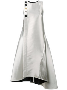 асимметричное платье металлик  Eudon Choi