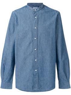 джинсовая рубашка с воротником-стойкой Aspesi