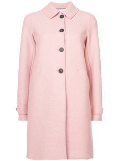 single breasted coat Harris Wharf London