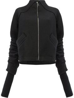свитер на молнии с удлиненными рукавами Ilaria Nistri