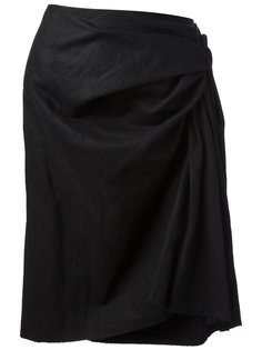 юбка со сборкой Lanvin Vintage