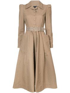платье с ремнем на талии Co