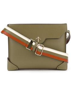 сумка=сэтчел на полосатой лямке Manu Atelier