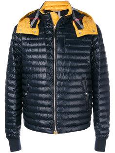стеганая пуховая куртка Burberry