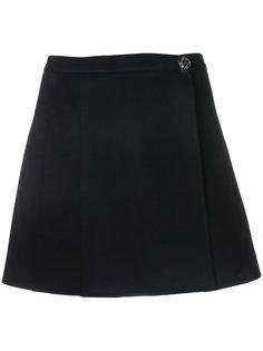 плиссированная мини-юбка  Valentino