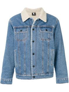 джинсовая куртка из овчины Kontroll  Kappa