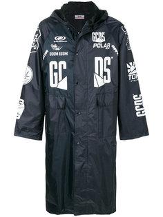 пальто с капюшоном Gcds