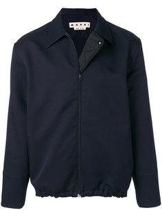 куртка с эластичным подолом Marni