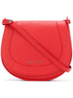 сумка через плечо с тиснением логотипа Orciani