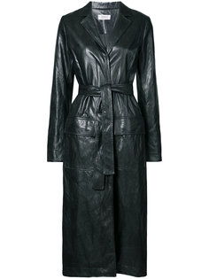 belted trench jacket Nomia