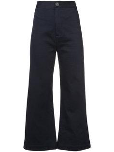 high waisted Sailor trousers Sea