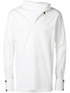 рубашка с драпированной горловиной Alchemy