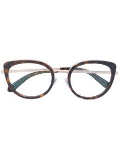 cat-eye glasses Bulgari