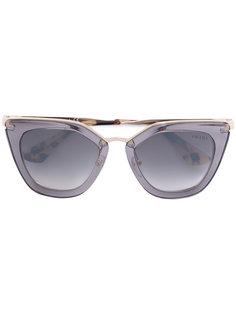 bold cat-eye sunglasses Prada Eyewear