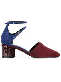 туфли двумя ремешками Pierre Hardy
