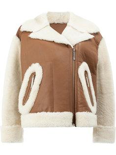 укороченная куртка из шерсти ягненка Maison Ullens