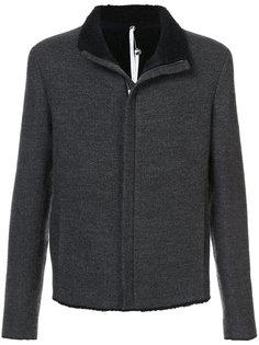 zipped jacket Label Under Construction