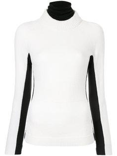 свитер с контрастной отделкой  Moncler Grenoble